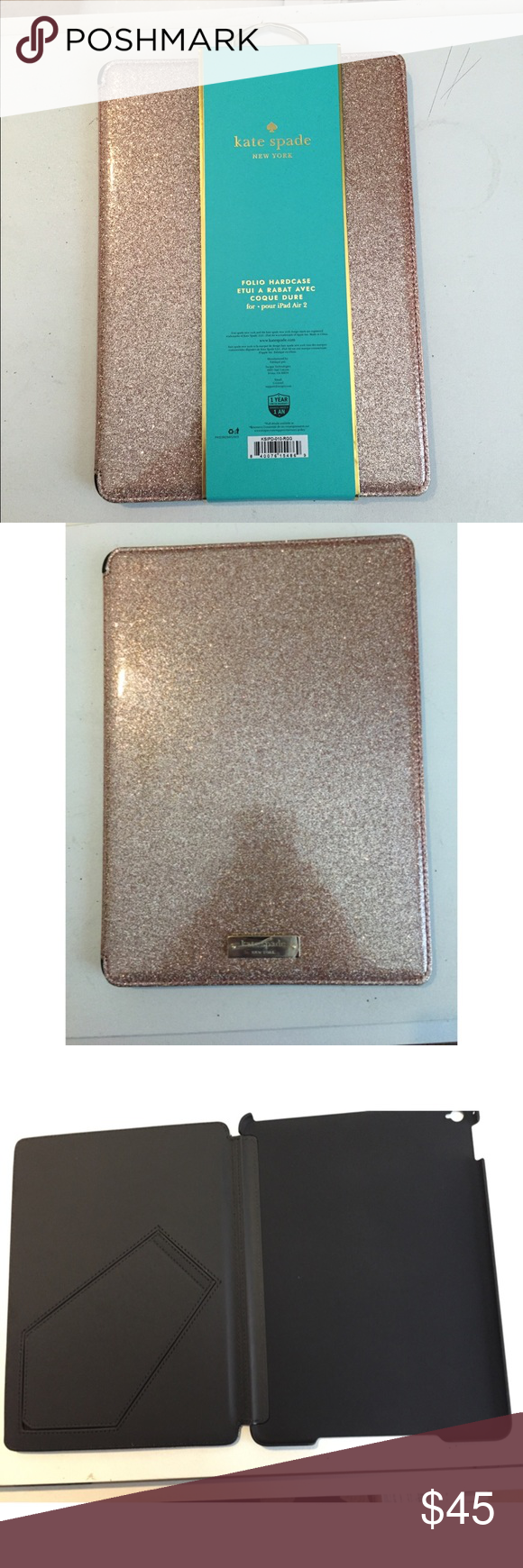 buy popular 107bc d290a Kate Spade NY Folio Hardcase For iPad Air 2 Beautiful and brand new ...