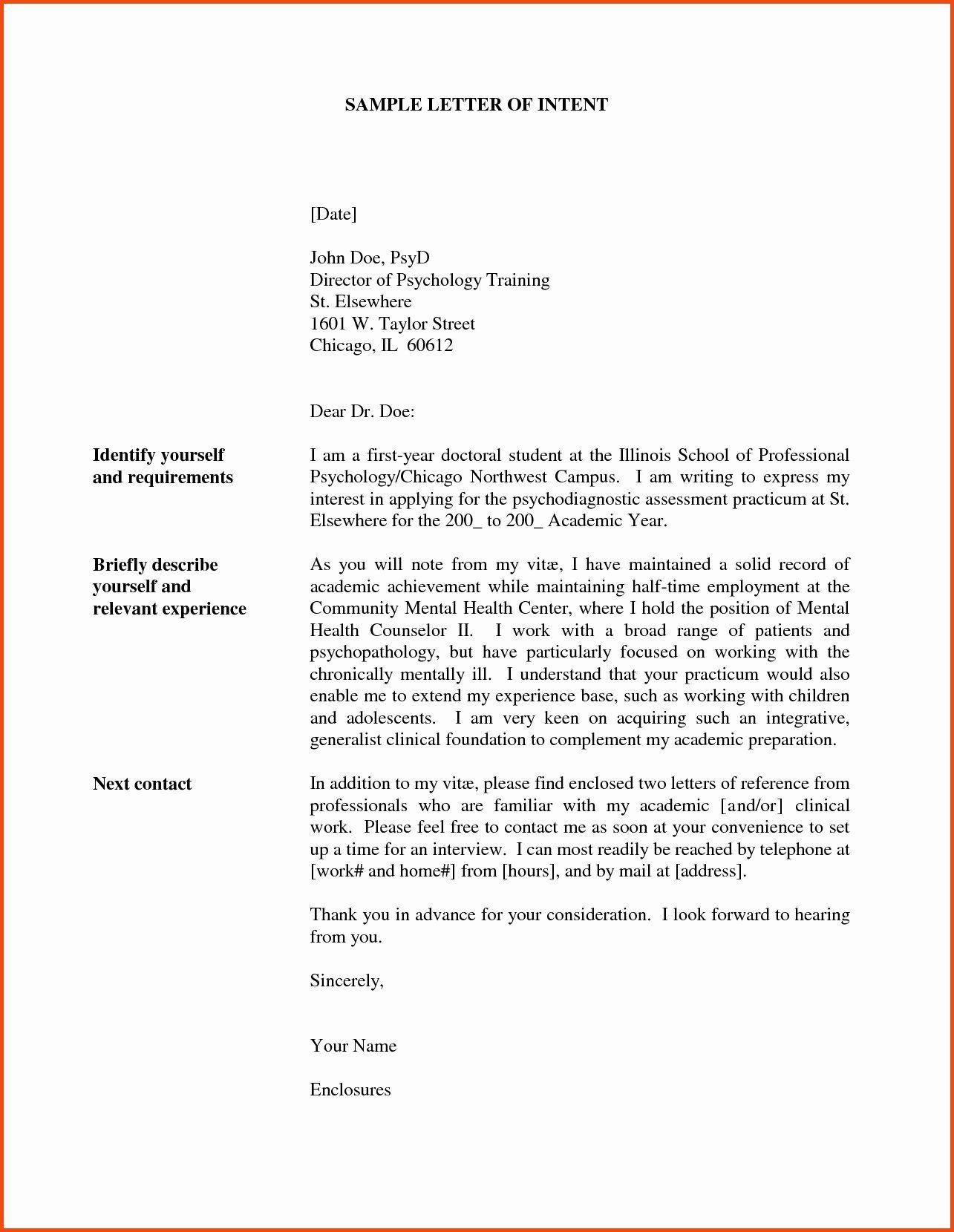 Letter Of Intent For Promotion Best Of Letter Intent For Promotion Template Collection Letter Of Intent Letter Example Lettering