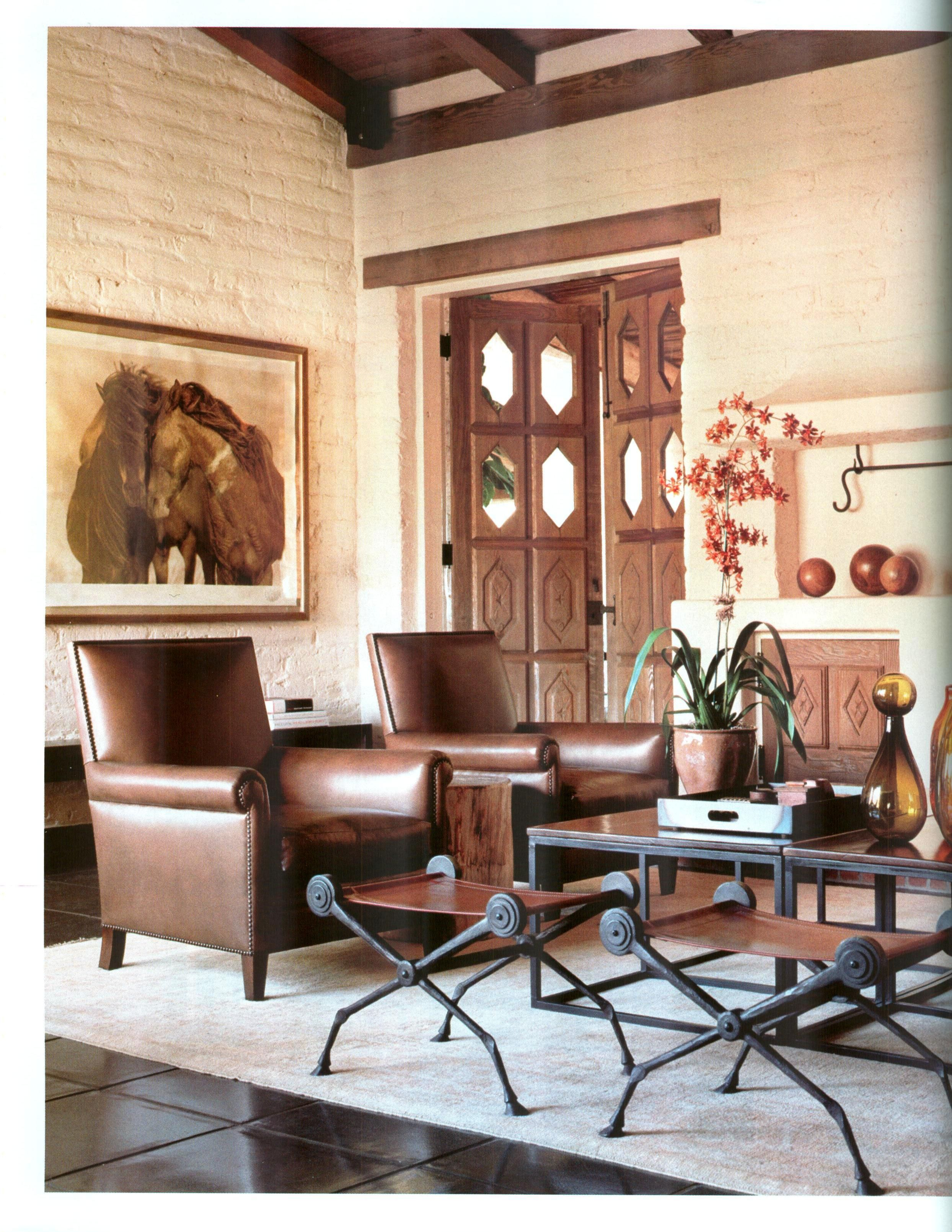 transitional living room in neutrals browns creams