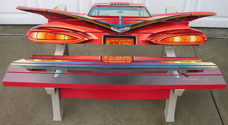 1959 Chevy Bench
