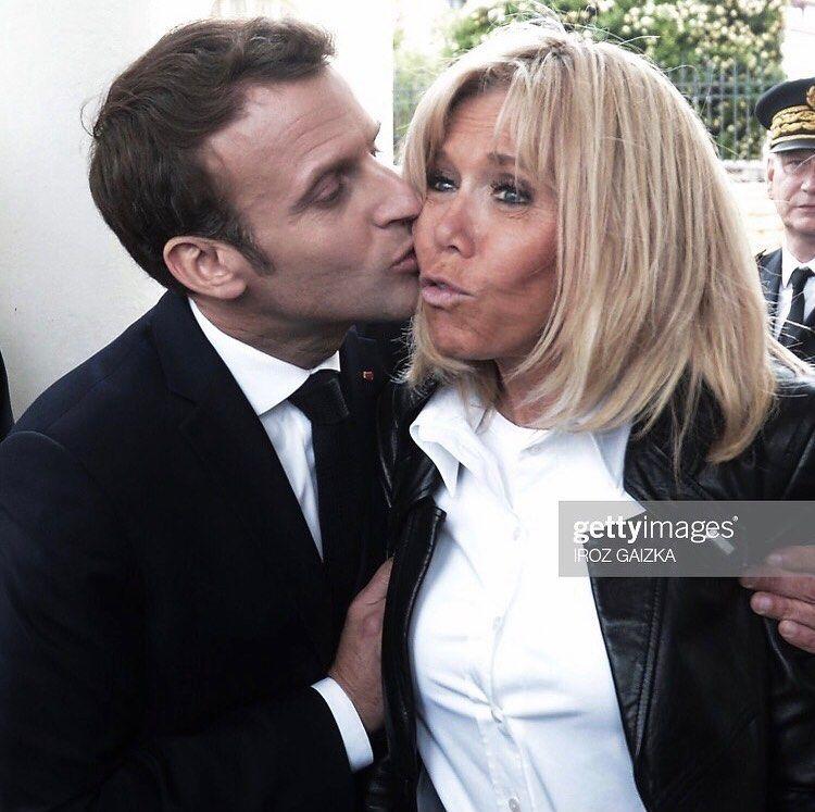 Emmanuelmacron Brigittemacron Macron Biarritz Getty Image Portrety Znamenitostej Znamenitosti Portret