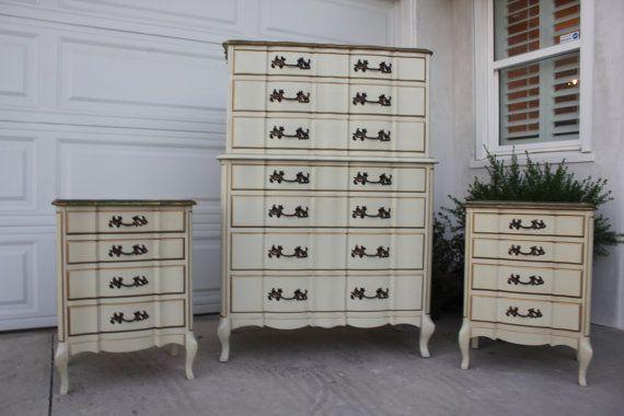 Pick Your Color Vintage French Provincial Permacraft Dresser