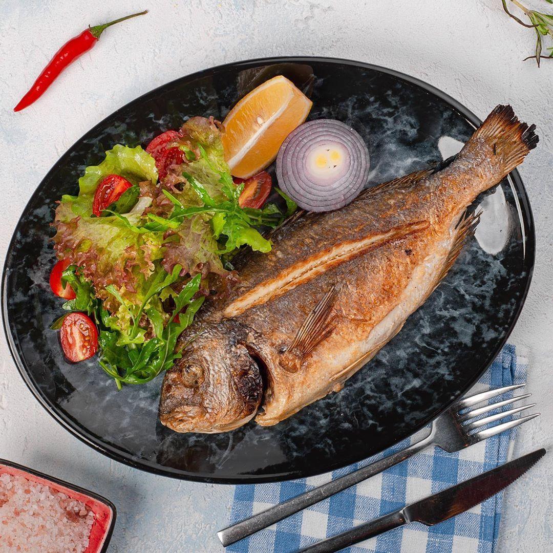 Сегодня из нашего меню мы предлагаем вам попробовать нашу вкусную и нежную рыбу