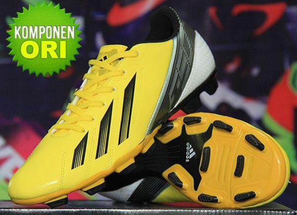 Sepatu Bola Adidas F50 Adizero Messi Kuning Rp 160 000 Bb