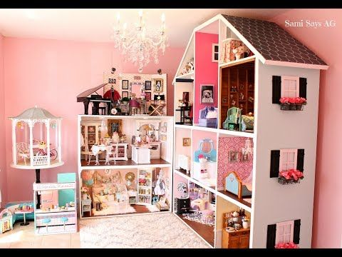 HUGE AMERICAN GIRL DOLL HOUSE TOUR!!! NEW! 2018