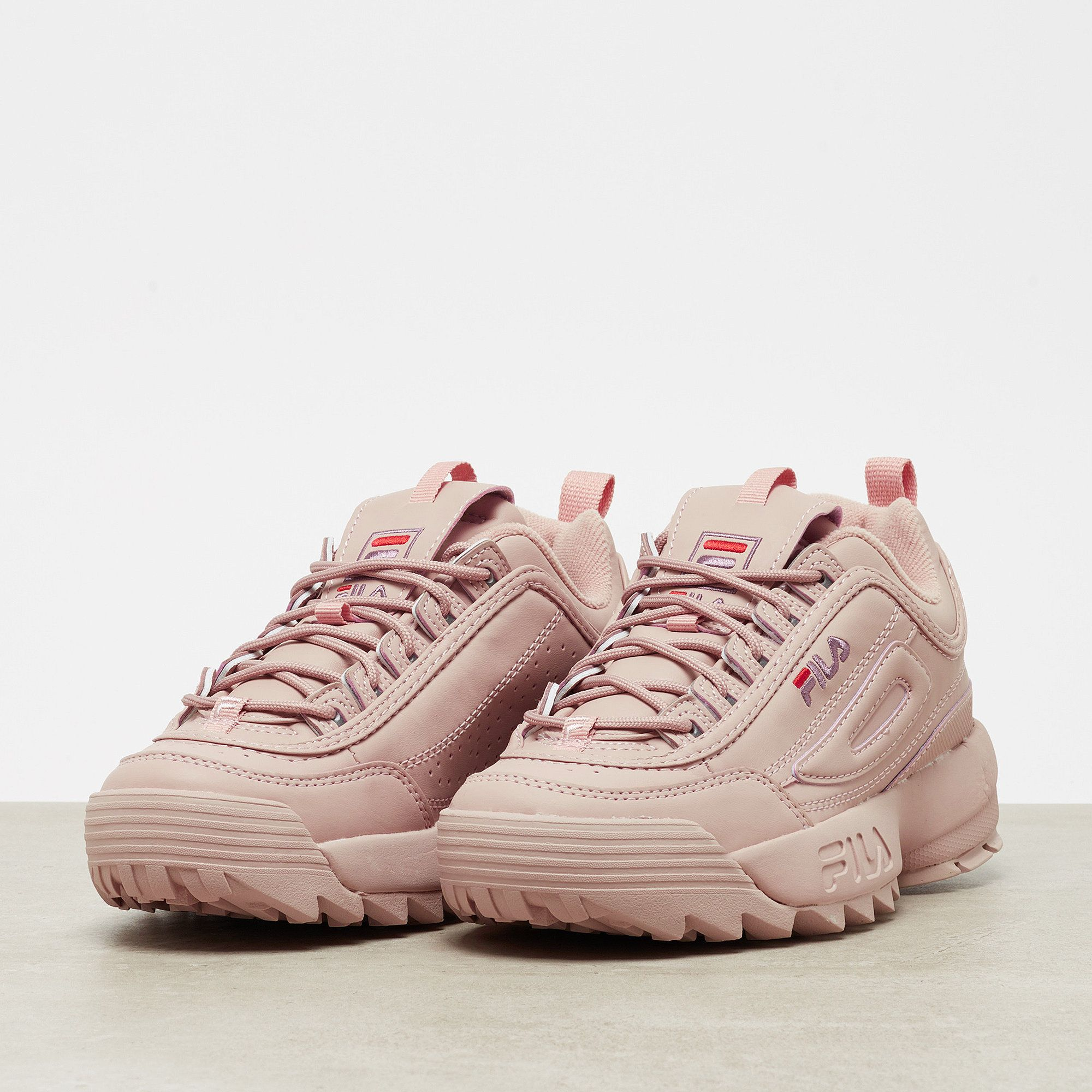 Fila Disruptor Low woodrose | Trainers in 2019 | Fila schuhe, Schuhe ...
