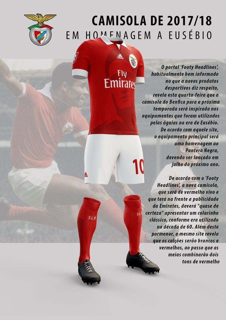 e18880343 Equipamento Benfica 17-18 by MrMAU.deviantart.com on  DeviantArt ...