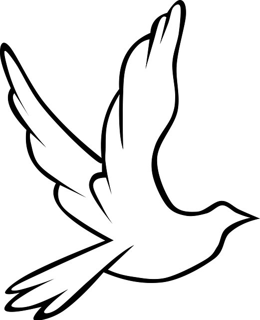 Free Image On Pixabay  Dove Bird Symbol Peace Love  Template