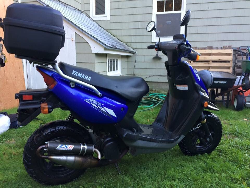charming craigslist moped scooters #2: 2008 Yamaha Zuma scooter for sale. $1450 http://westernmass.craigslist.