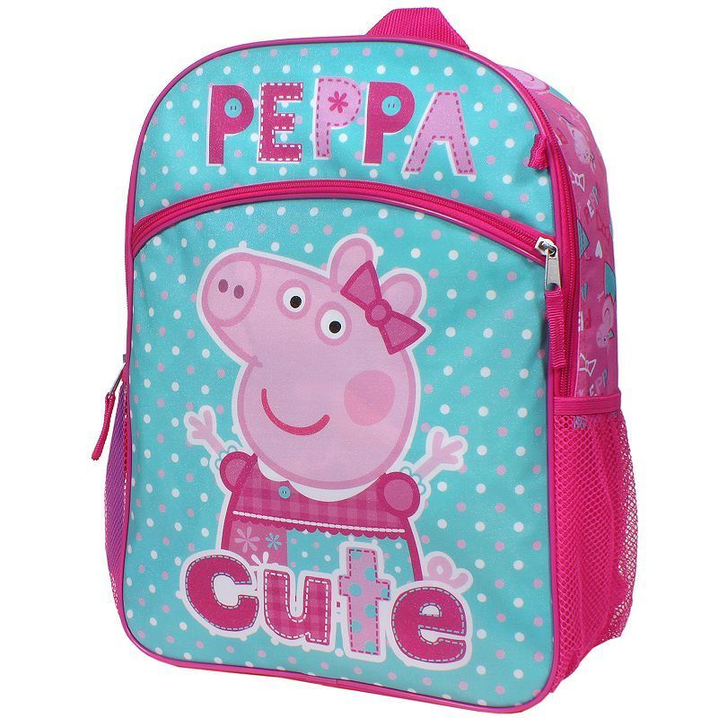 f3ebe8ff327c Girls Peppa Pig 5-pc. Backpack, Lunch Box & Accessories Set ...