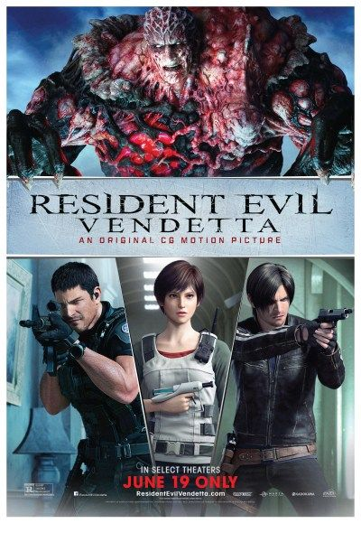 resident evil vendetta full movie