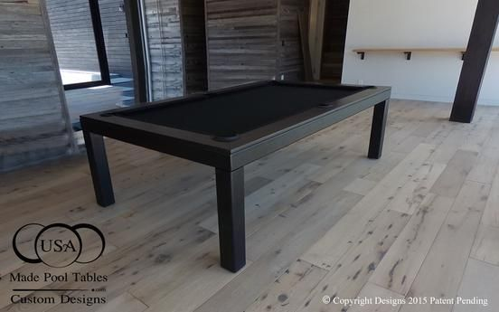 The Fusion Contemporary Pool Table Is A New Dimension In The Dining - Conference pool table