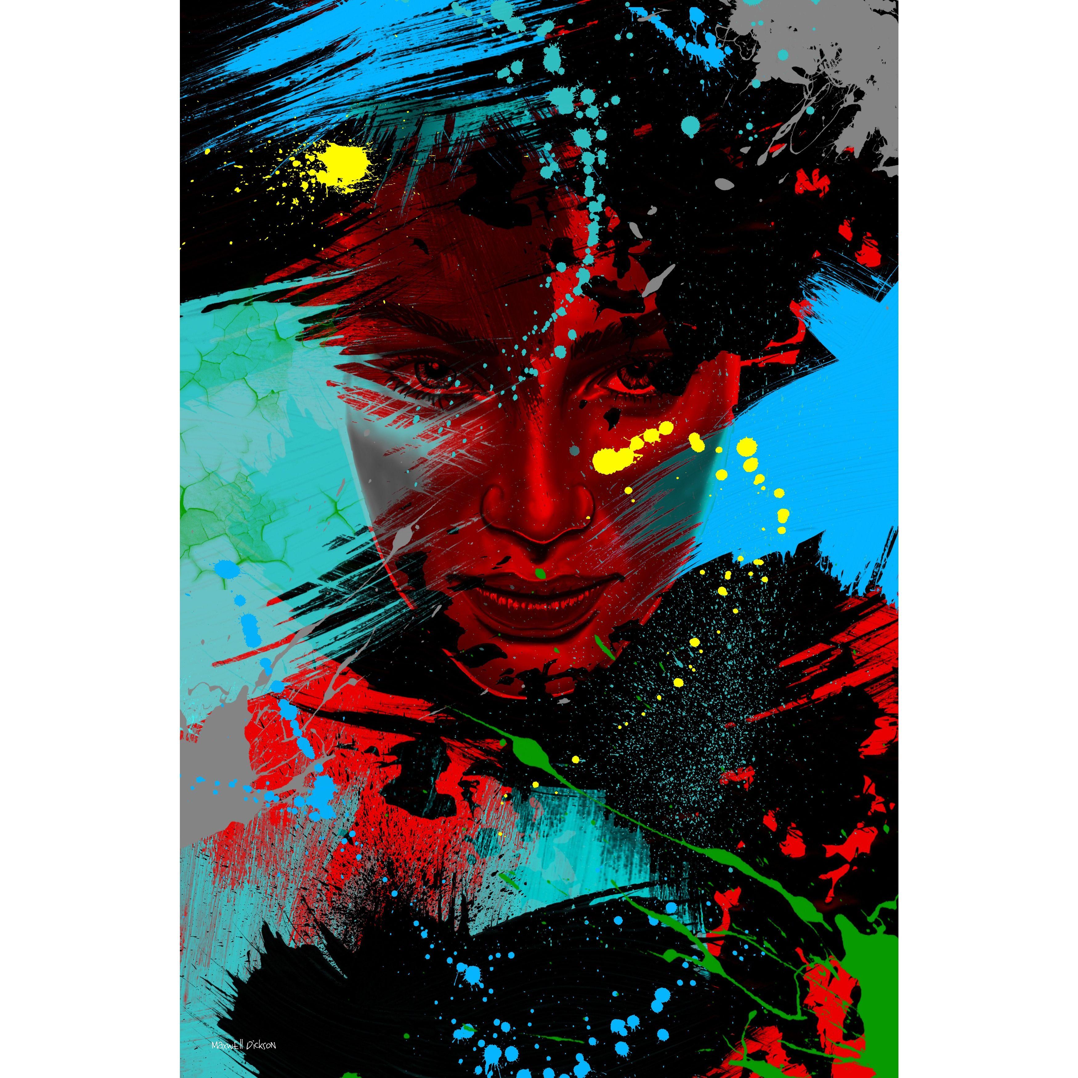 Maxwell Dickson 'Living Colors' Wall Art