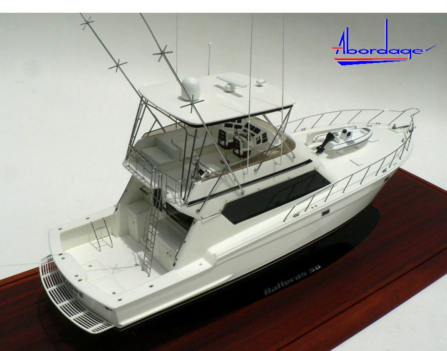 Hatteras 58 model custom fishing boat models pinterest for Hatteras fishing boat