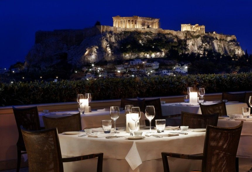 GB Roof Garden Restaurant & Bar Athens, Greece   Athens Restaurants, Athens Hotel, Luxury Collection Hotels