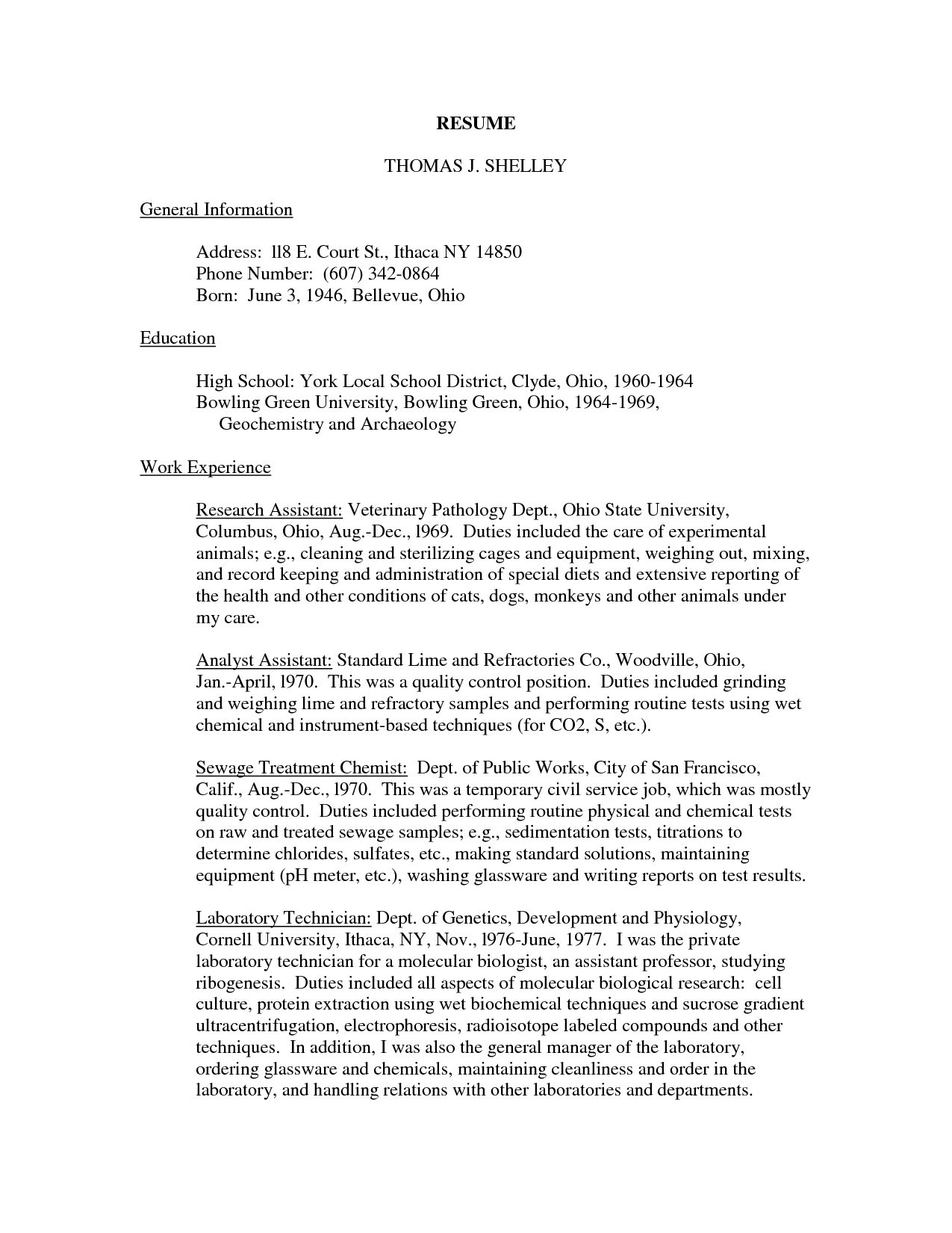 Related Post College Admission Essay Veterinary Technician Resume  Veterinary Technician Resume