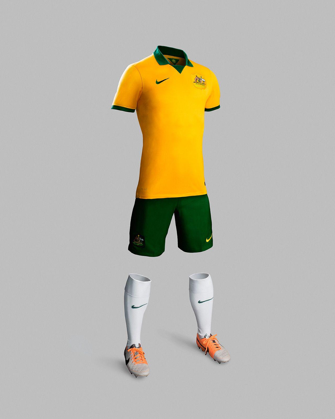 Australia Football Jersey '14