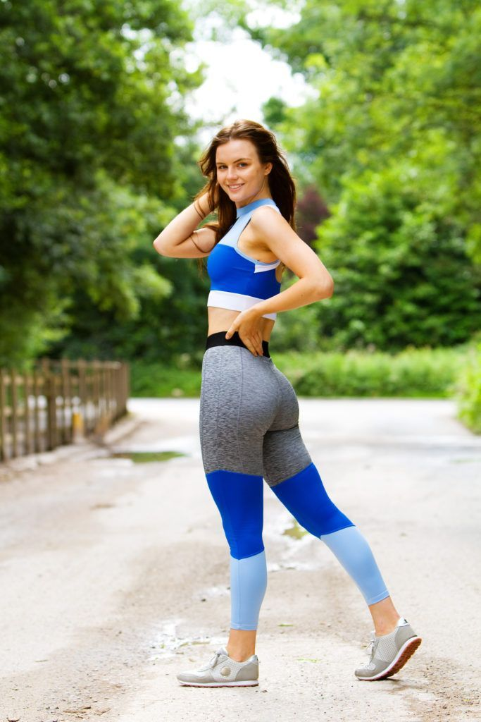 a68746833b4c activewear | what works for me | activewear womens fashion | cute workout  clothes | gym leggings outfit | matalan sportswear | color block leggings