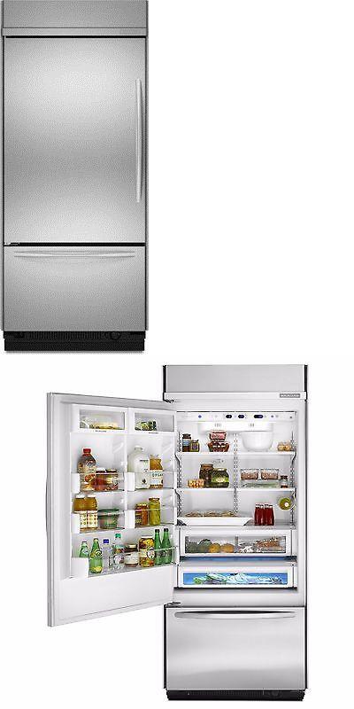 Refrigerators 20713: Brand New Kitchenaid 36 Stainless Built In Refrigerator  Kblc36fts  U003e BUY
