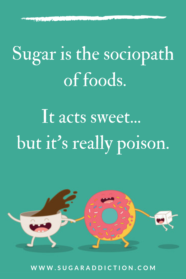 sugar in diet poison
