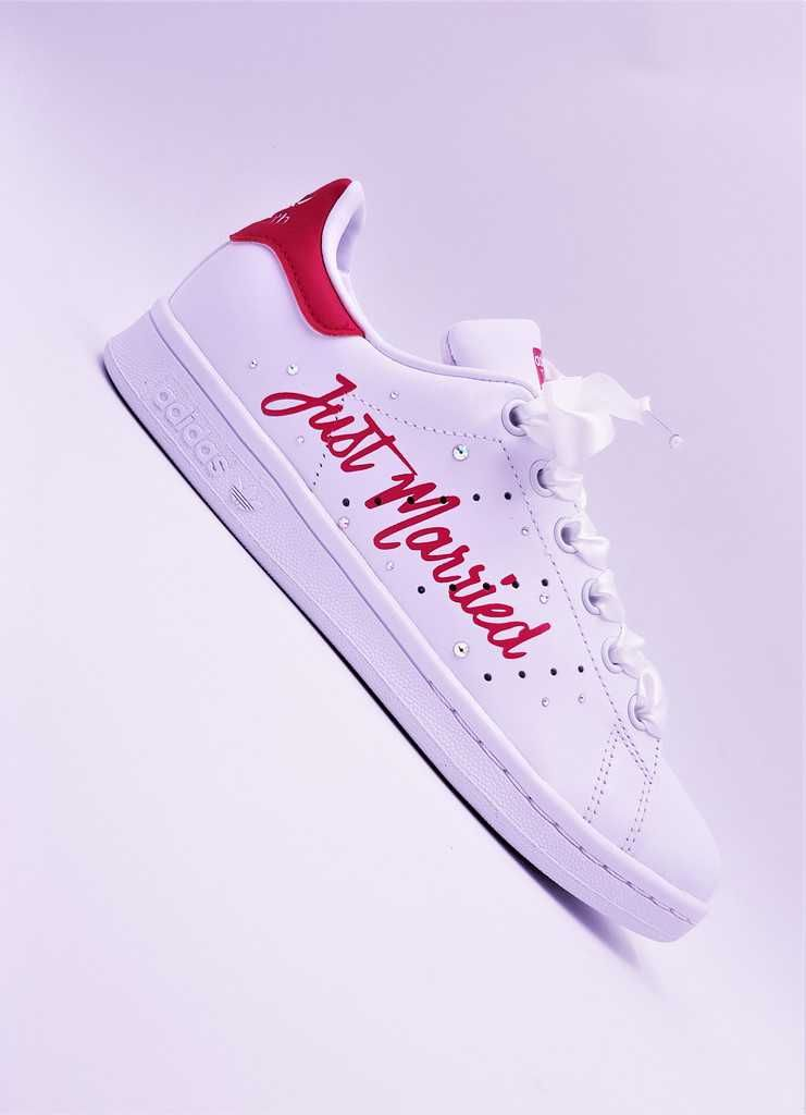 Des Adidas Stan Smith en mode Just Married ???? | Chaussure