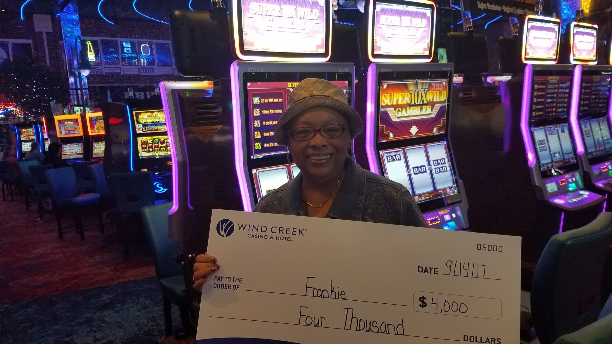 Congratulations To Frankie On Winning 4 000 On Super 10x Wild Gambler Winningmoment Jackpot Winners Landline Phone Congratulations