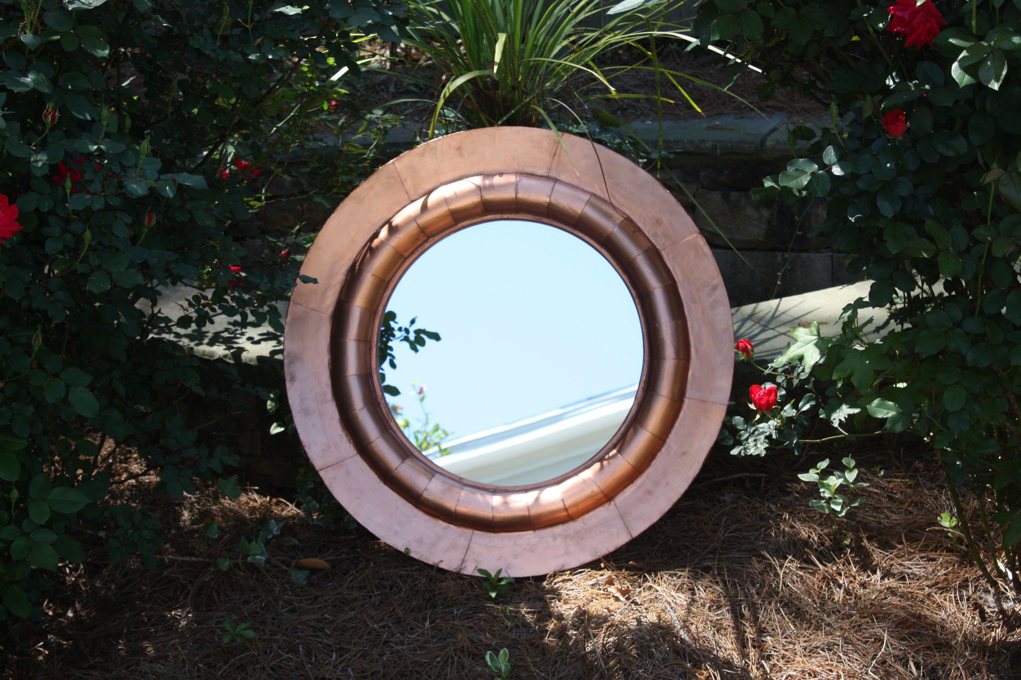 32 Round Copper Mirror 250 Atlanta Http Furnishly Com