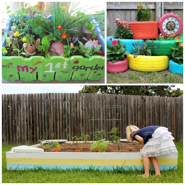 Play Garden Ideas For Kids With Images Gardening For Kids