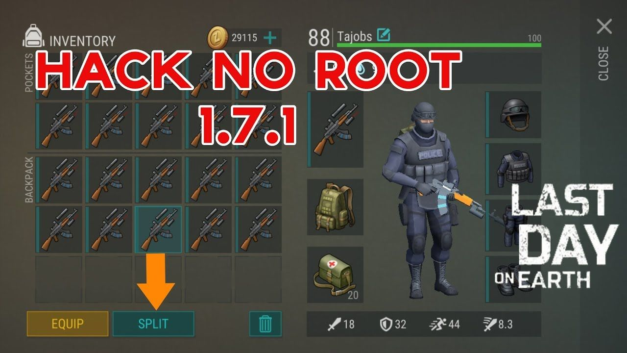 New Update Last Day On Earth 1 7 1 Mod Apk Hack Cheats No Root For A Youtube Cheating Pocking