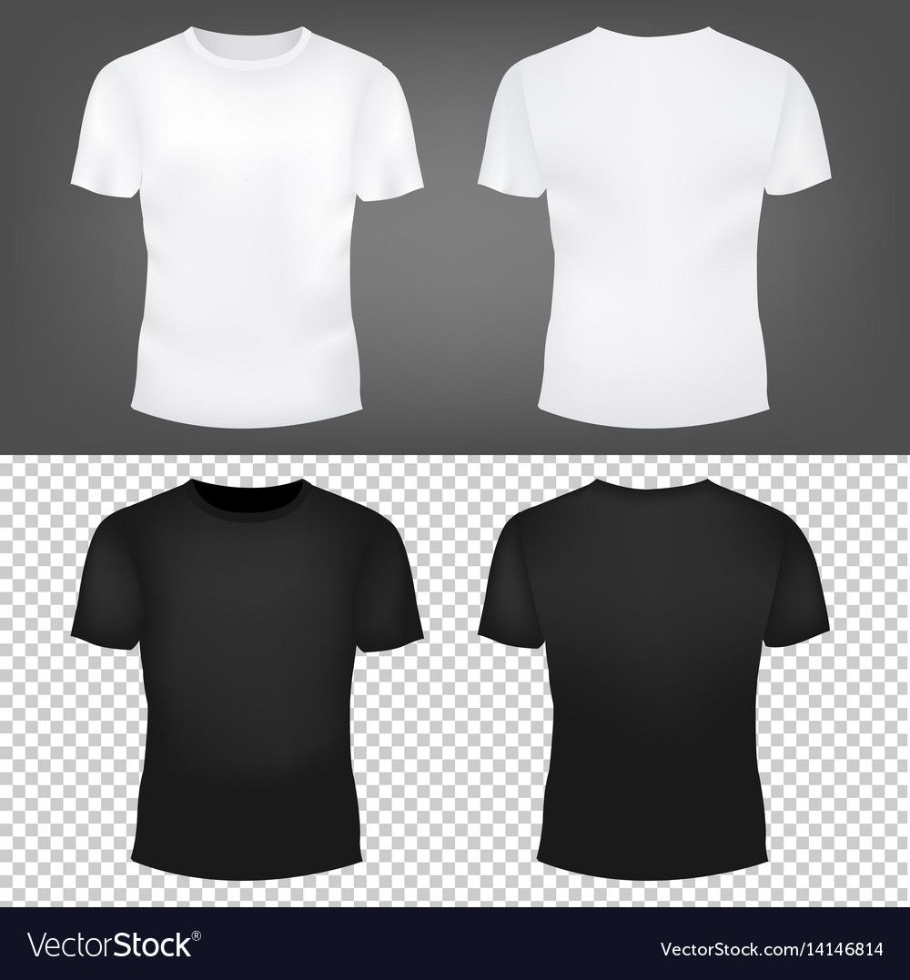 Download T Shirt Template Set With Gradient Mesh Vector Illustration Download A Free Preview Or High Quality Adob Shirt Template T Shirt Design Template T Shirt Image