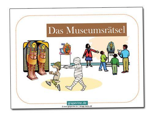 Eine weitere #Schatzsuche von uns spielt im #Museum. Ein Tag vor Eröffnung einer großen Ausstellung sind die Schlüssel für die Kiste der ägyptischen Mumie abhanden kommen. Diese lustige #Schnitzeljagd eignet sich für Kinder im Alter von 7-10 Jahre.