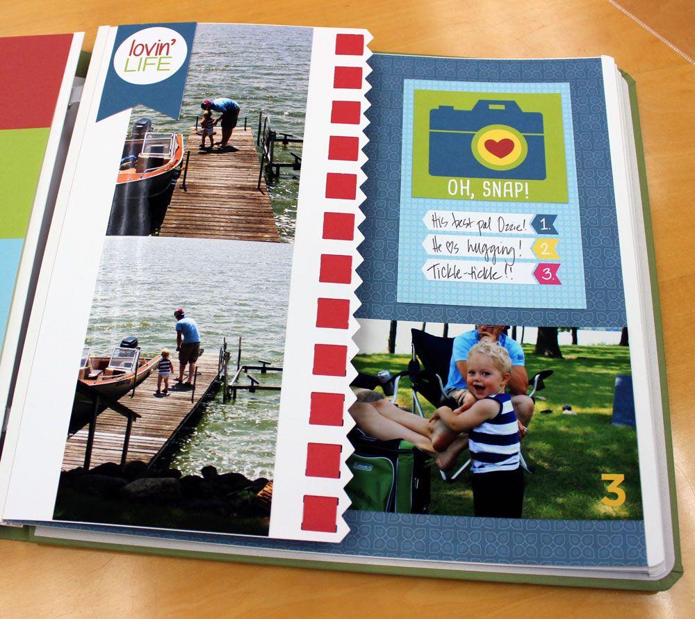 Scrapbook ideas creative memories - Creative Memories Border Maker Idea I Love This Creative Idea Now And Then