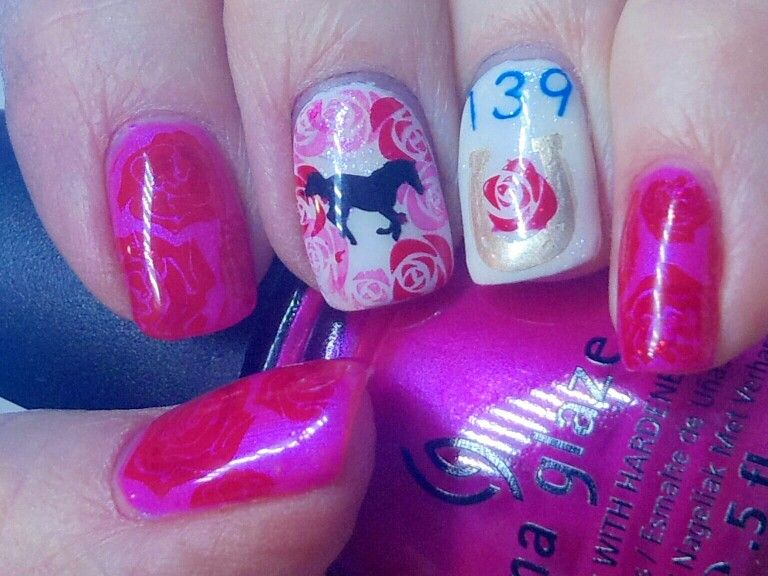 Kentucky Derby Nails, can\'t wait to get there! | Favorite Nail Art ...
