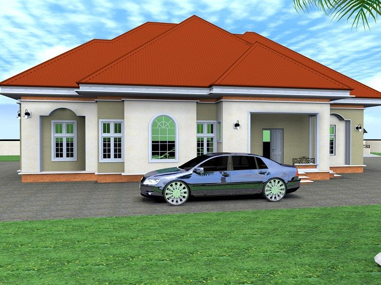 Architectural designs for nairalanders who want to build for 4 bedroom house designs in nigeria