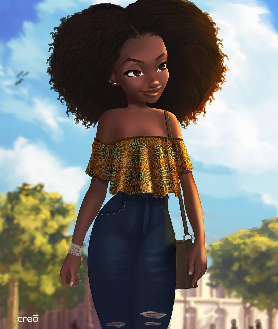 IG Spotlight Nils Britwum • nilsbritwum Black girl art
