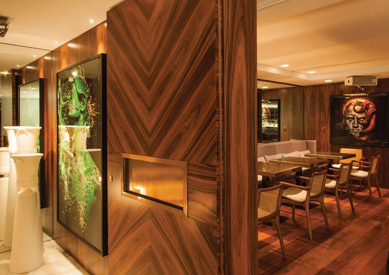 Resultado de imagem para painel madeira pau ferro for Modelos de ceramica para pisos de sala