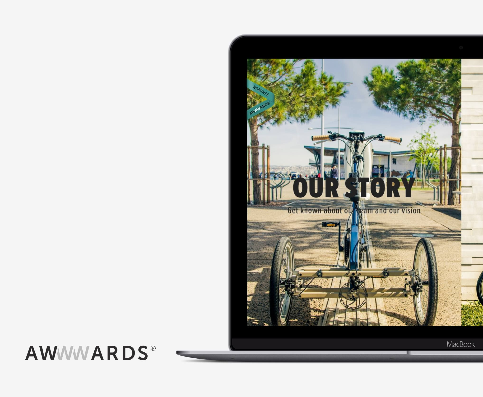 Our website www.elektroniowheels.com, made with love by Grammik, is nominee at Awwwards this week !  #reimagineyourvehicle