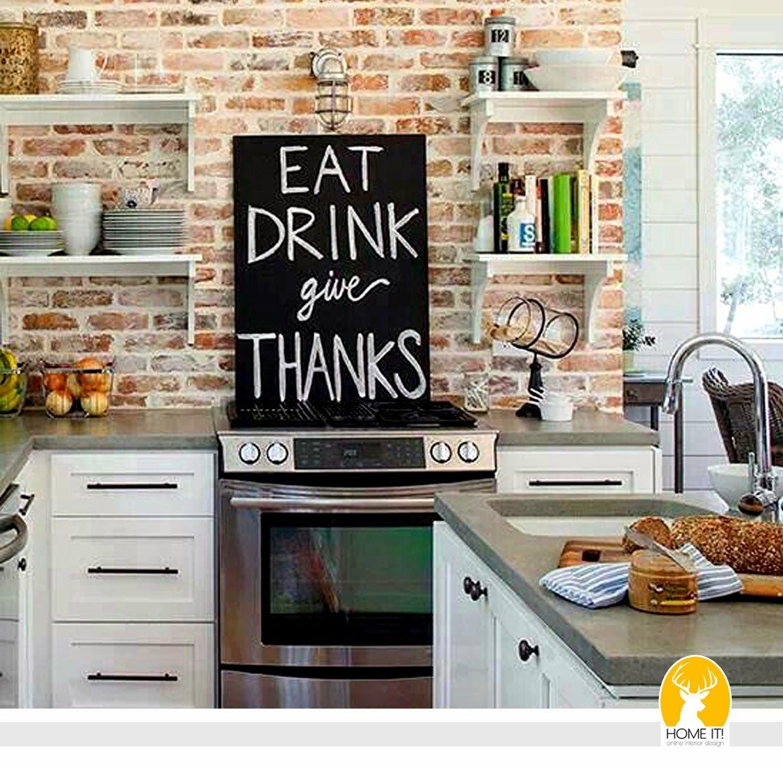 постер на фартук в кухне фото