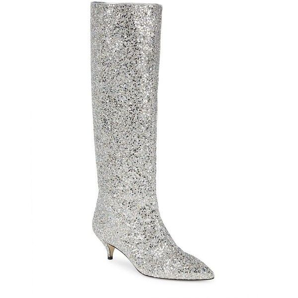 b913b59f61e2 Kate Spade New York Women s Olina Glitter Knee-High Boots (1