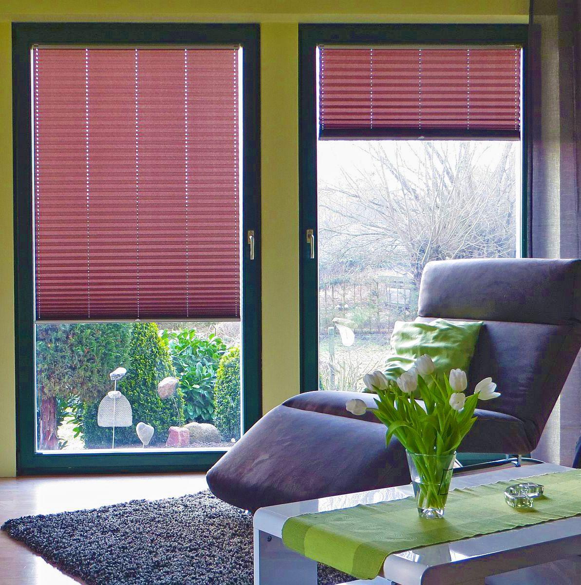 Lovely  plissee wohnzimmer stuhl tulpe Macht Euer Zuhause sch ner mit unseren Plissees
