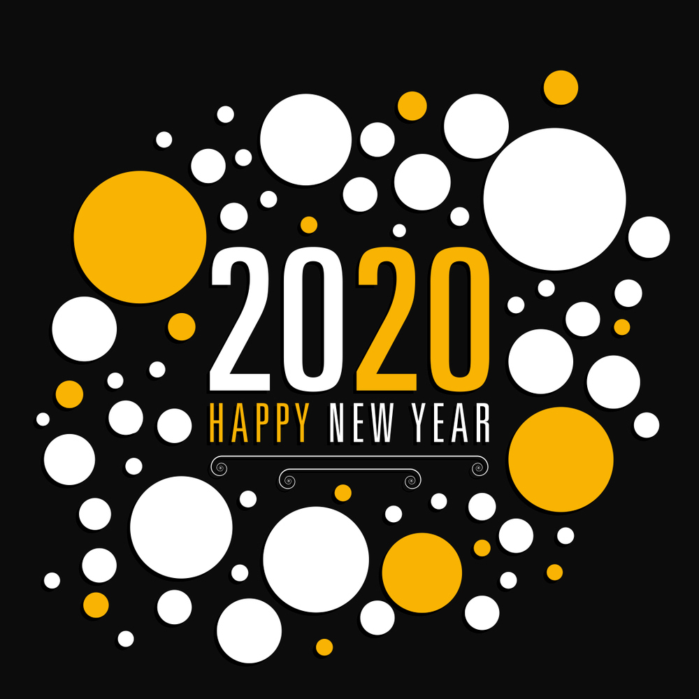 Happy new Year Wishes 2020, Happy New Year Cards, 2020 new