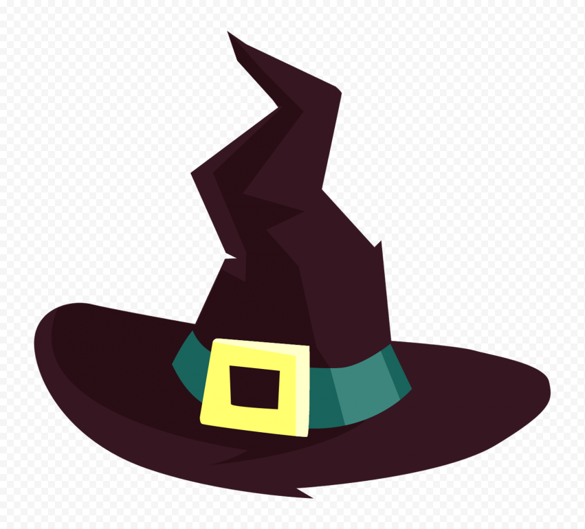 Hd Halloween Witch Hat Cartoon Clipart Png Halloween Witch Cartoon Clip Art Halloween Witch Hat