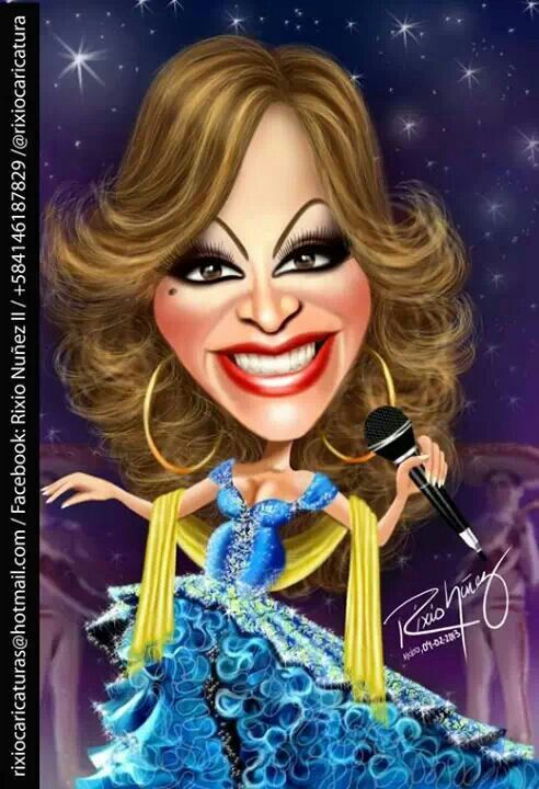 Jenny Rivera Jazz Y Flamenco Jenni Rivera Caricature Celebrity Couples