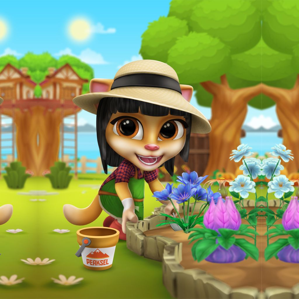 Pin by Fun Apps and Games on Cool Android Games | Garden ...