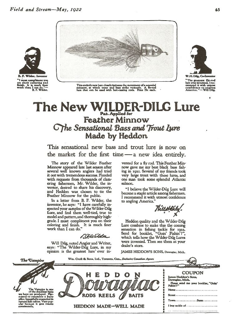 Pin By Fly Fisherman On Heddon Tackle Ads Ads