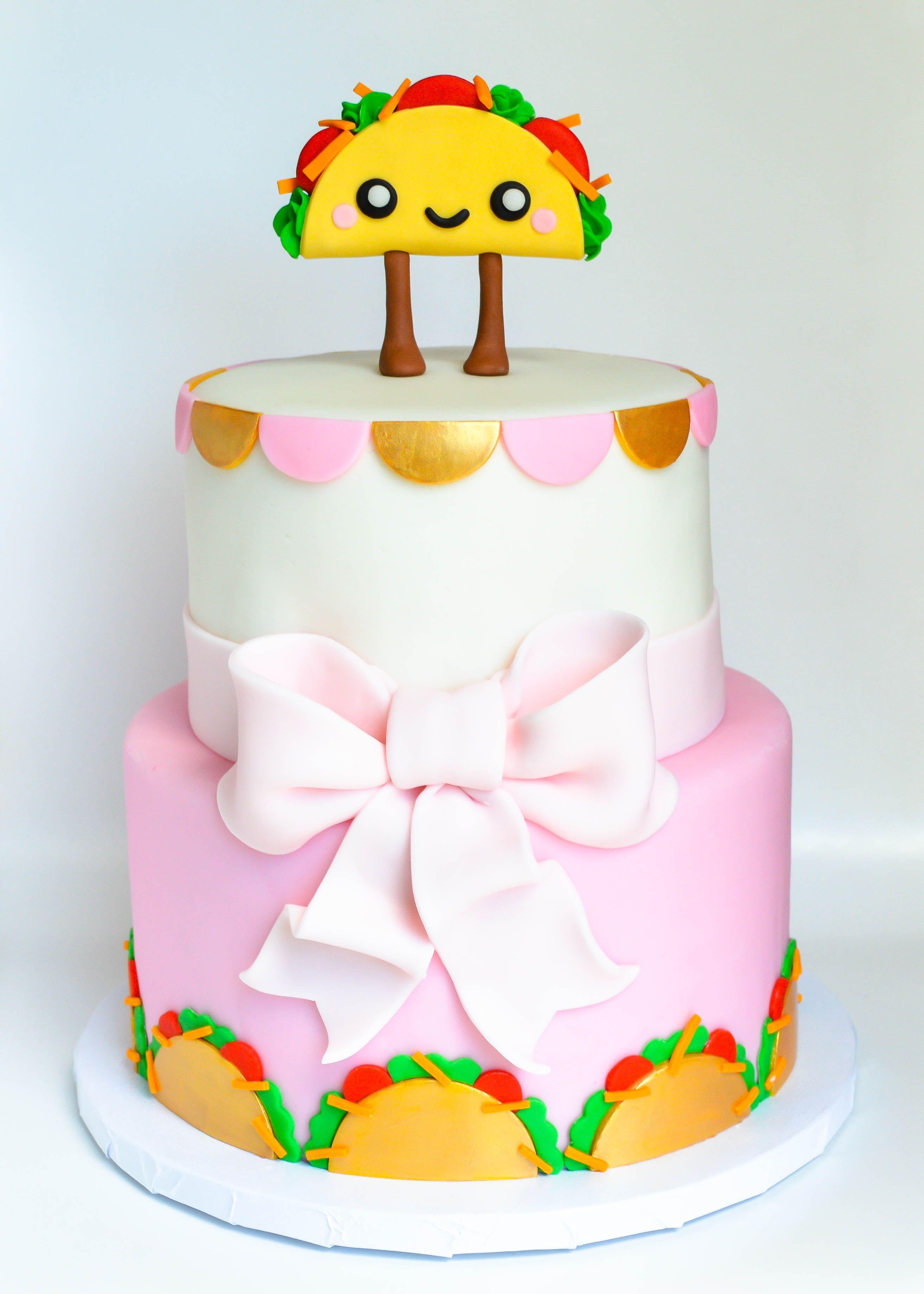 kawaii taco cake jam cakes Pinterest Taco cake Cake and Birthdays