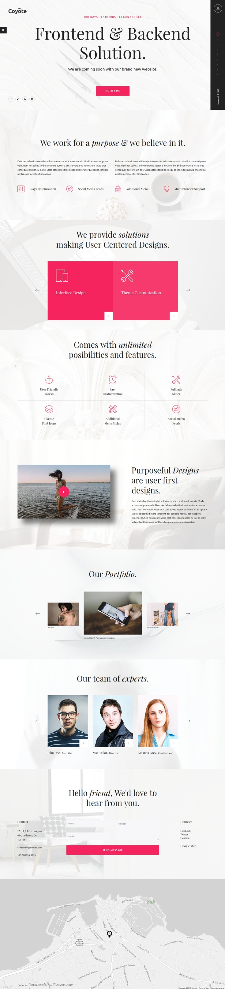 Coyote is 18 in 1 modern and creative responsive AngularJS ...