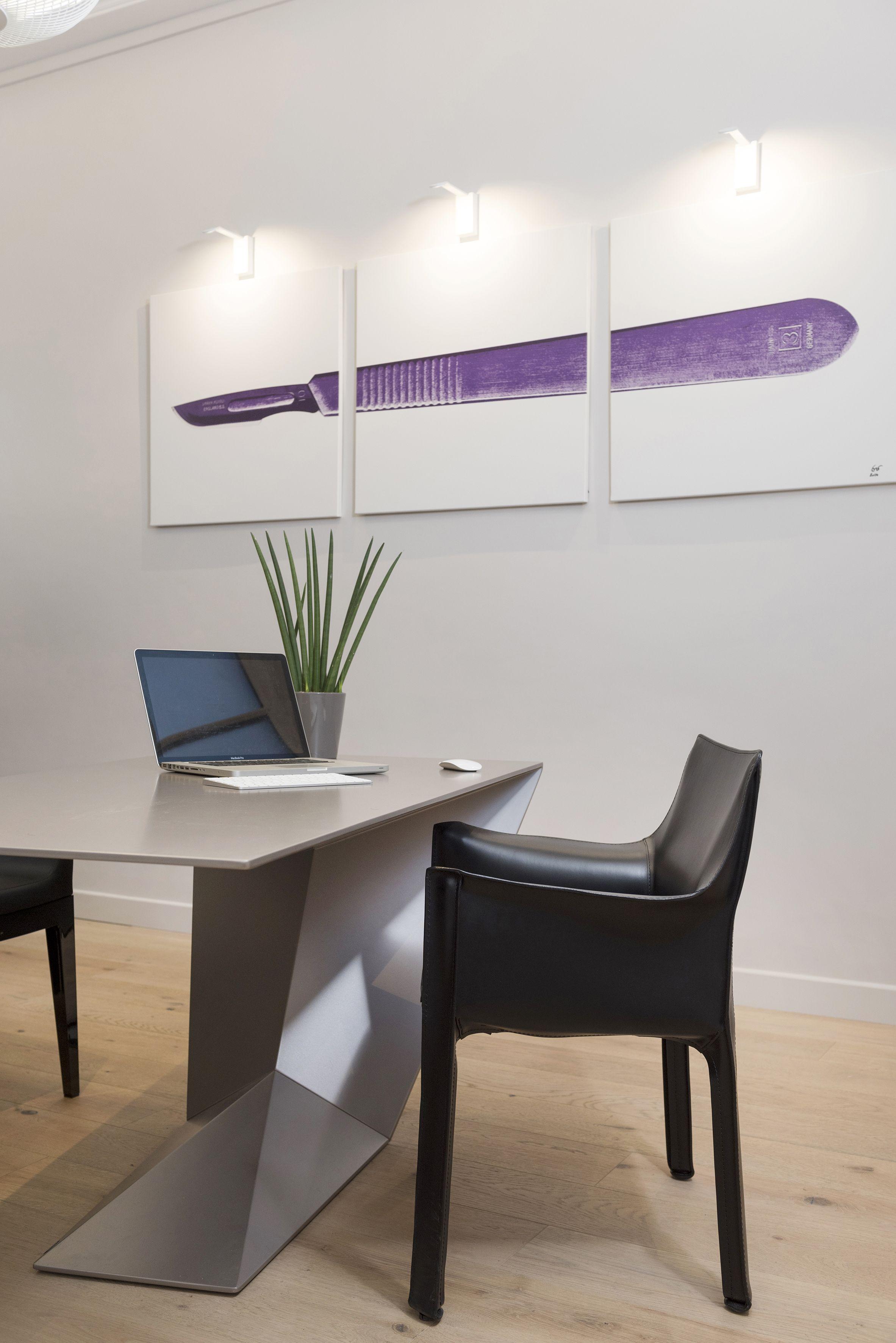 bureaux medical minimaliste
