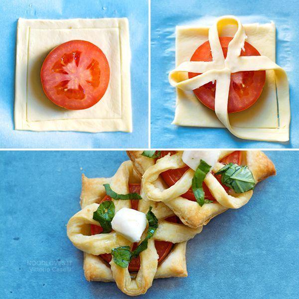 Blätterteig-Vorspeisen für ein originelles und leckeres Buffet! Fingerfood-Re ... - mypin #fingerfoodweihnachten