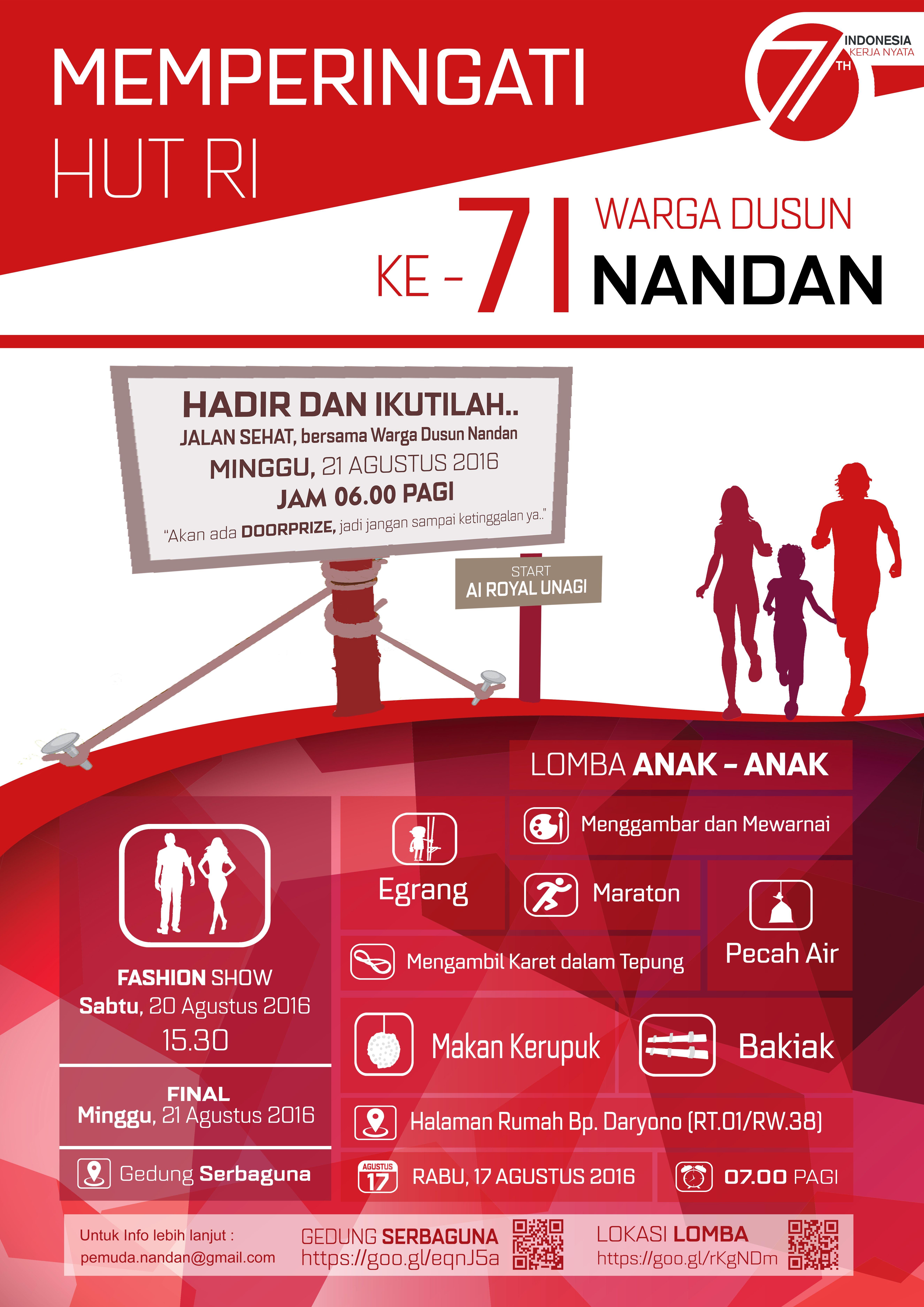 Poster Hut Ri Nusagates